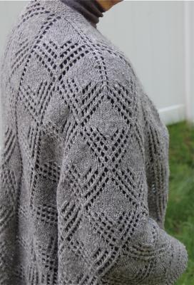 Shawl shoulder