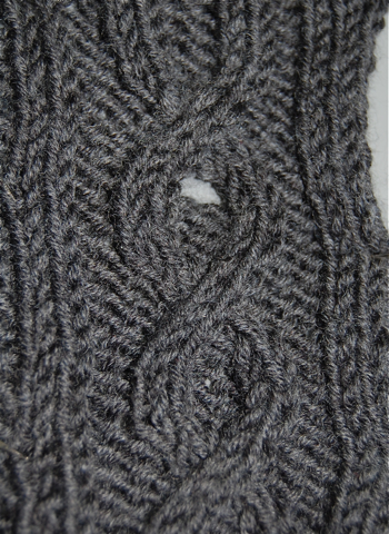 Knitted buttonhole